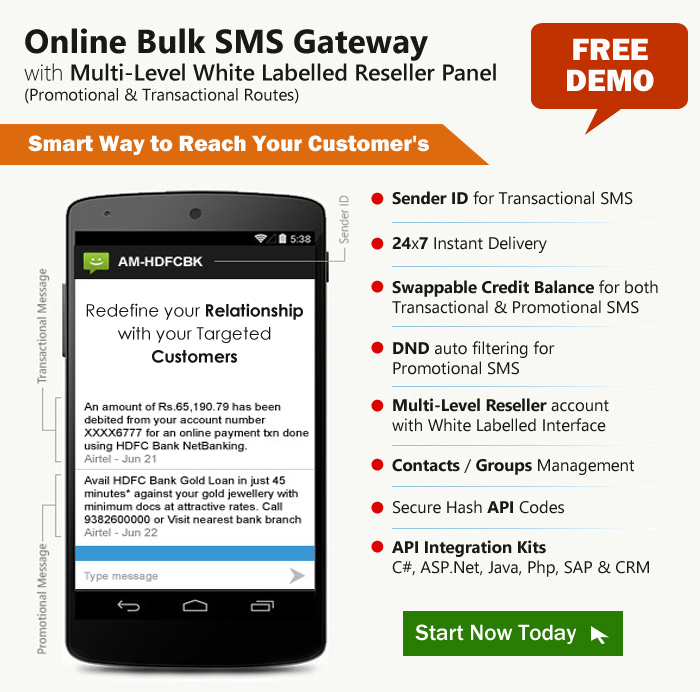 Get more customers from our Bulk SMS Marketing Services